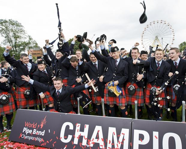Field Marshall Montgomery as they were named 'World Champions' for the third year in a row in 2013, making them the most successful pipe band of all time.