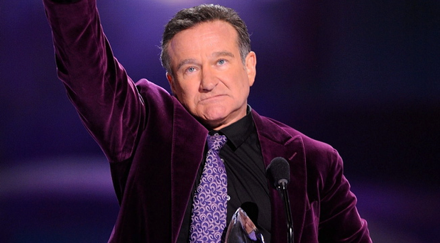 Robin Williams died at the age of 63