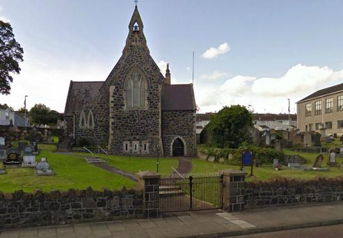 An object found by a gravedigger at St John's church cemetery in Coleraine has led to a security alert. Pic Google Maps