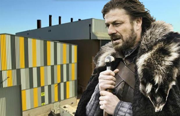 £14m expansion will almost double the existing production space at the impressive Titanic Studios