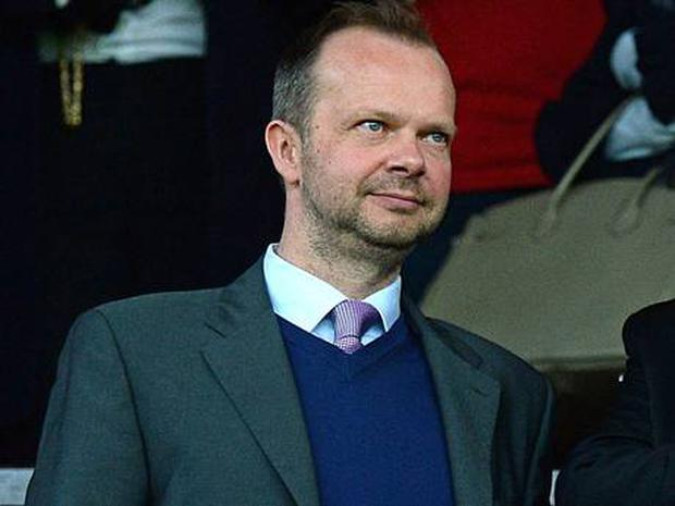 Manchester United's chief executive Ed Woodward