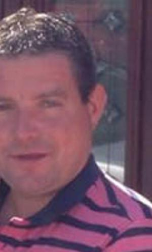 Dessie Quinn, 43, from the Doorin area, outside Mountcharles, Co Donegal