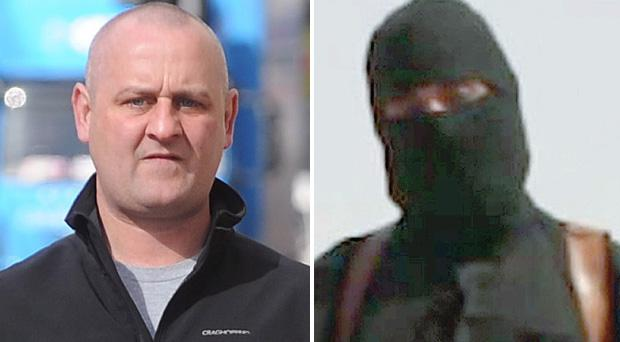 Can the face technology that helped to unmask McDaid... also unmask British jihadist filmed beheading journalist James Foley?