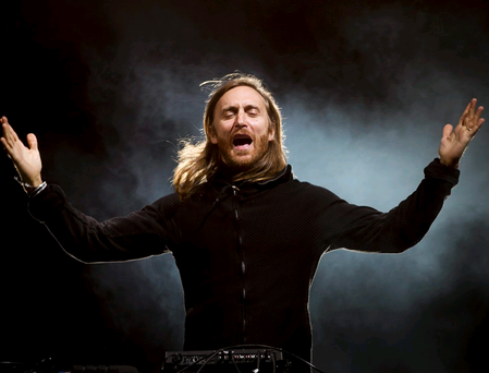 David Guetta performs at Tennent's Vital. Photo by Liam McBurney