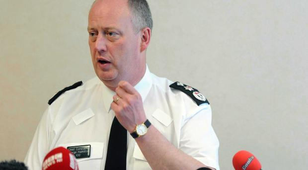 Chief Constable George Hamilton says we need to take risks to cement the peace