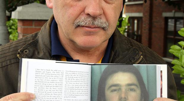 Brendan Megraw vanished in April 1978. Kieran Megraw is hopeful his brother's remains will be found