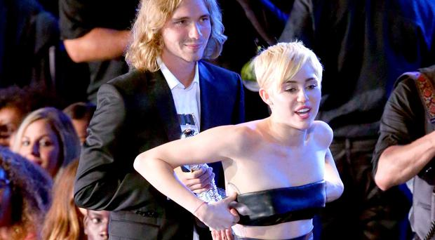 Street talk: Miley Cyrus with homeless Jesse at the MTV awards