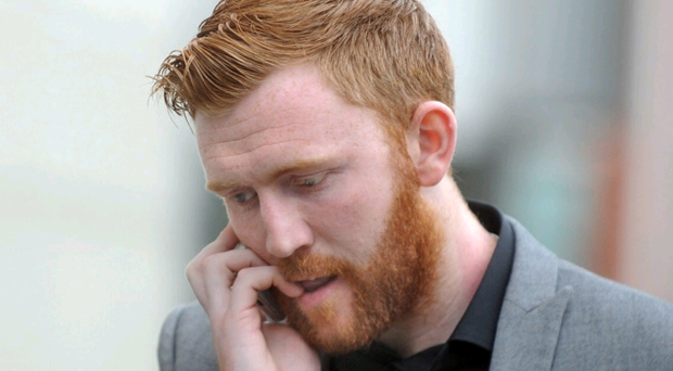 Conor Devlin, Cliftonville's Irish Premier League goalkeeper, at Belfast Magistrate's Court
