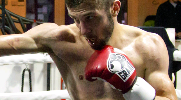 Packing a punch: Anthony Cacace (pictured) has been impressed with the input of coach Shane McGuigan