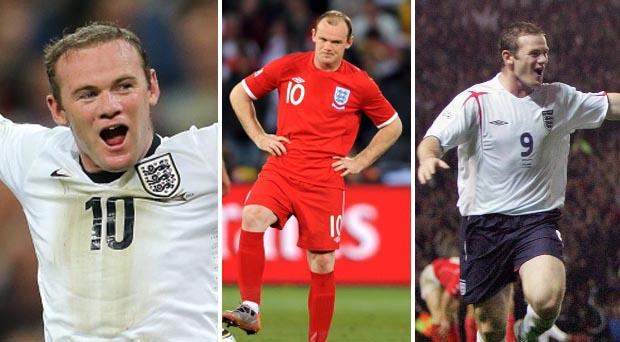 Rooney: we remember seven moments in an England shirt in which her was far from a shining example to those around him
