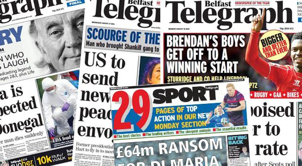 Jobs are to go at a Belfast Telegraph printing works