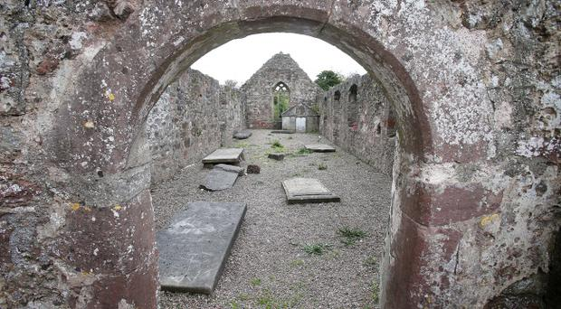 Damage was caused to a number of gravestones in Cookstown, Co Tyrone. Pic Pacemaker