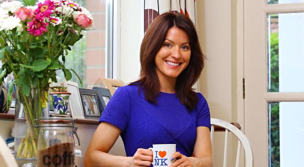 Home comforts: Sarah Crowther is looking forward to buying her first house. Pic Kevin Scott