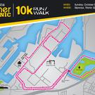 The new Runher 10k route