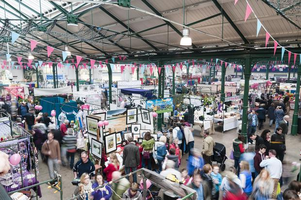 St George's Market is open for three extra days in the run up to Christmas