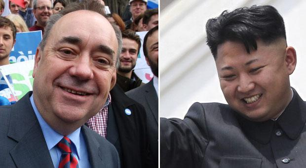 Kim Jong-un is feeling positive about a Yes vote in Scotland, reports have said