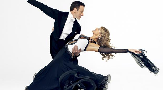 It takes two: Anton Du Beke and his long-time dance partner Erin Boag
