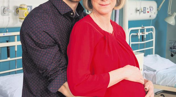 Baby boom: TV show In The Club appeals to all mothers who remember their first pregnancy