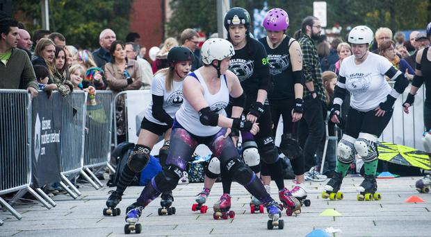 Get your skates on for the Belfast Roller Derby