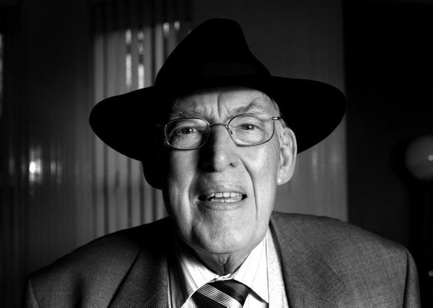 The former DUP leader Ian Paisley pictured in 2007