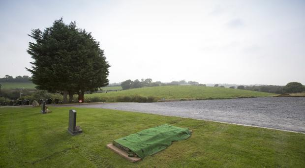 The Co. Down graveyard believed to be the planned final resting place of Dr Ian Paisley.
