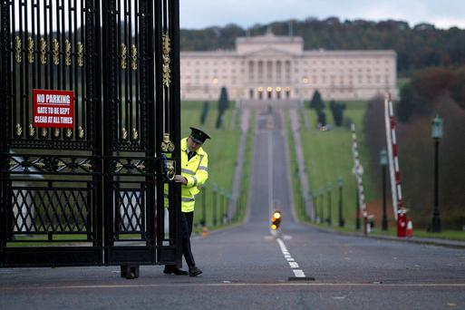 The power-sharing administration at Stormont is in trouble