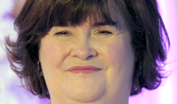 Chart-topping performer Susan Boyle