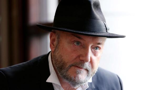 Court action: George Galloway