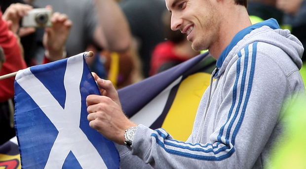 Andy Murray has backed Scottish independence in a move stunning supporters