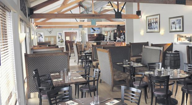 The impressive restaurant at Galgorm Castle Golf Club is right at the top of its game