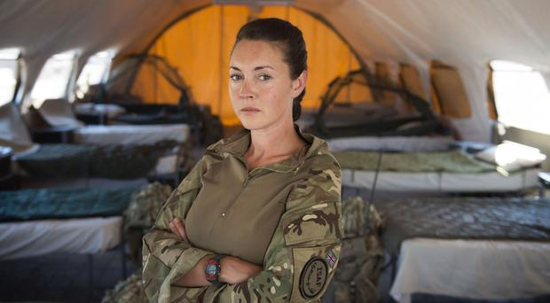 On the front line: Lacey Turner