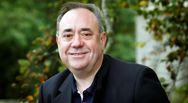 Alex Salmond has declared the