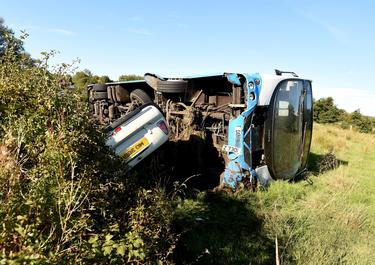 Co Tyrone crash: 52 in miracle escape as school bus full of