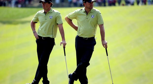 Grown apart: Rory McIlroy and Graeme McDowell