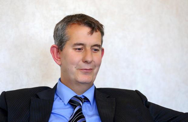 Edwin Poots had claimed Peter Robinson would stand down before the next election