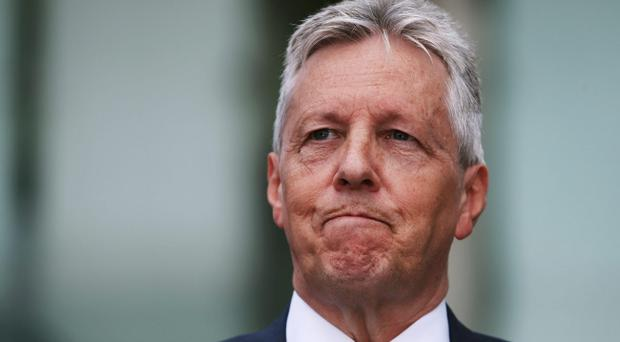 Peter Robinson has said he will not step down before the next Assembly election