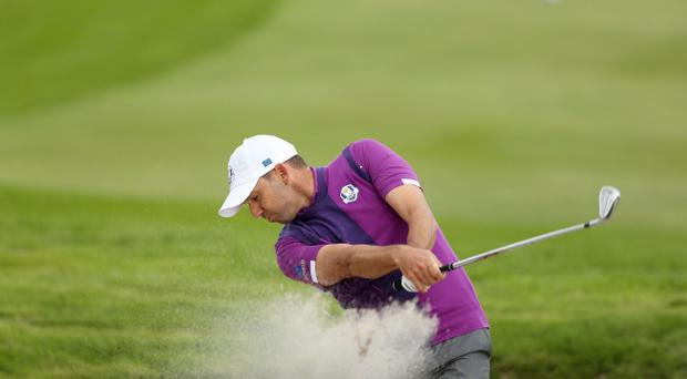 Talisman: Sergio Garcia has been an inspirational figure for Europe since making his Ryder Cup debut as a teenager in 1999