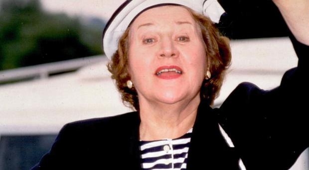 Patricia Routledge as Hyacinth Bucket