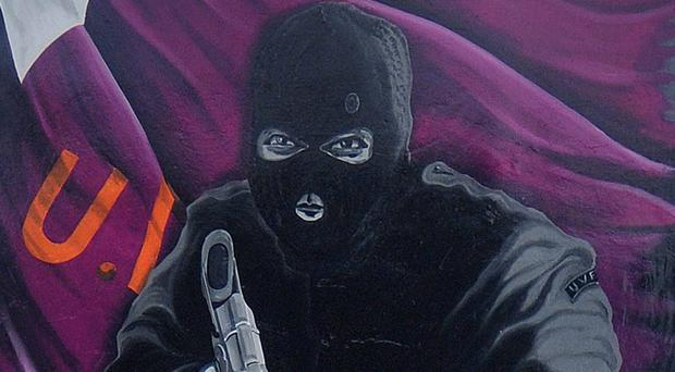 A UVF mural at in east Belfast