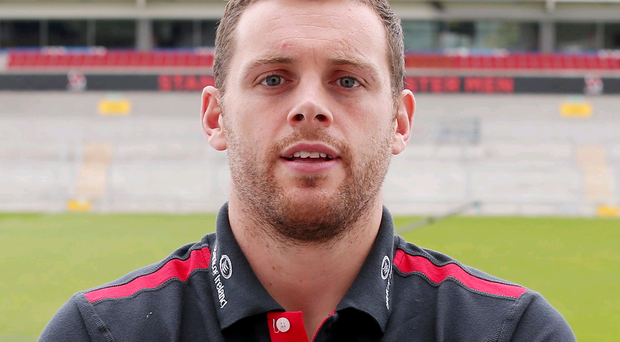 Tough roadtrip: Darren Cave is not expecting an easy game when Ulster take on Zebre in Parma today