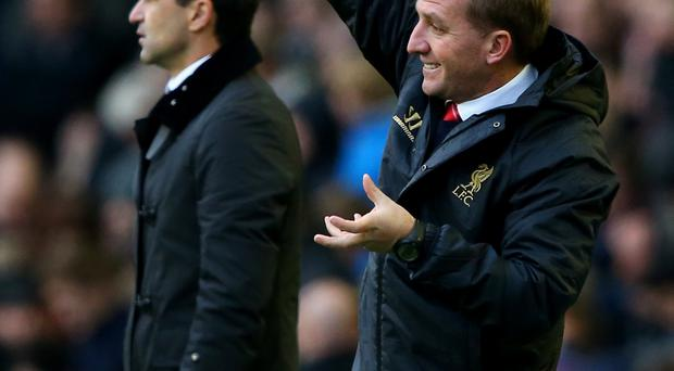 Crunch time: Brendan Rodgers and Roberto Martinez are ready for a tense Merseyside derby