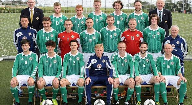 Harry McConkey's Eastern Region side have qualified for the finals of the UEFA Regions Cup