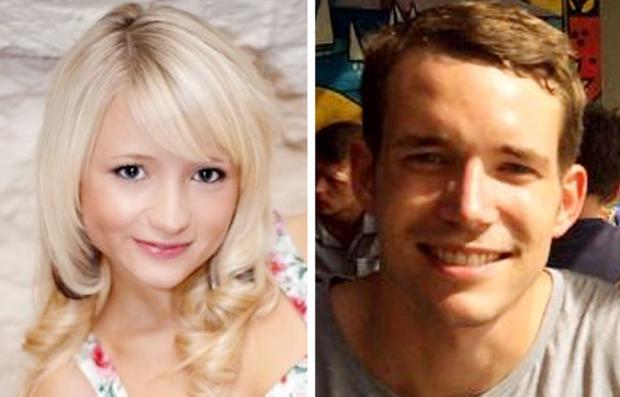 Undated handout photos issued by the Foreign and Commonwealth Office of Britons Hannah Witheridge and David Miller, as two Burmese workers are said by police to have confessed to killing the two British tourists on a Thai holiday island last month.