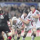 Scrappy play: Ulster v Edinburgh