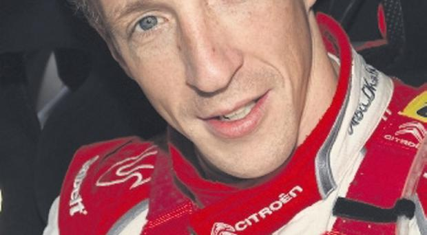 Contract hopes: Kris Meeke is yet to hear about his future