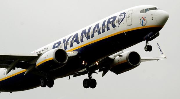 Ryanair said that its load factor in August - which is the percentage of available seats it filled - rose two percentage points to 95%