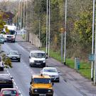 The speed camera on Saintfield Road, south Belfast