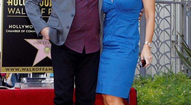 Married bliss: Neil Diamond and his wife Katie