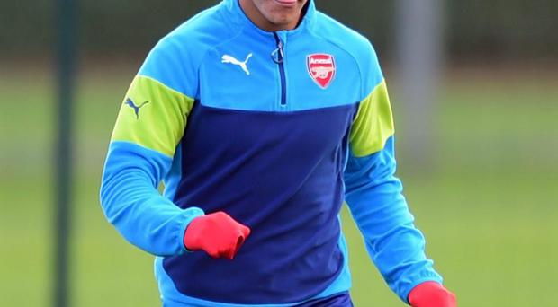 Arsenal manager Arsene Wenger admires the energy and devilry of his winger Alexis Sanchez