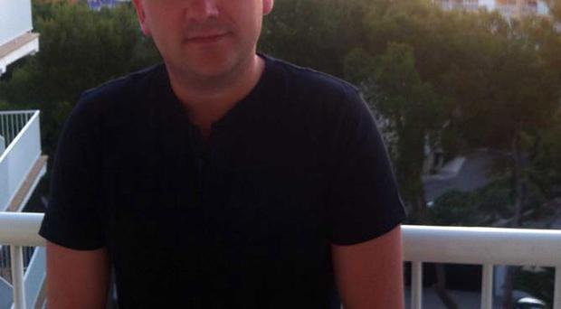 Chris McNally, from Bangor, died after falling from balcony of apartment block in Manchester